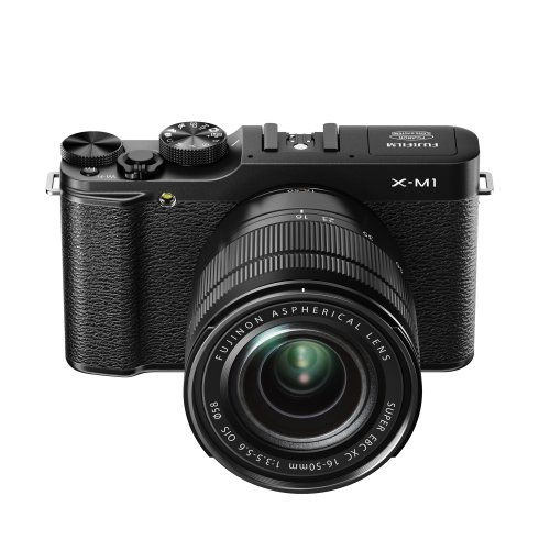 Fujifilm X-M1 Mirrorless Camera Kit with 16-50mm f/3.5-5.6 Lens (Black)