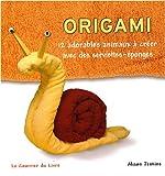 echange, troc Alison Jenkins - Origami : 12 adorables animaux à créer avec des serviettes-éponges