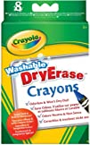 Crayola Large Dry Erase Crayons 8 count 98-5200