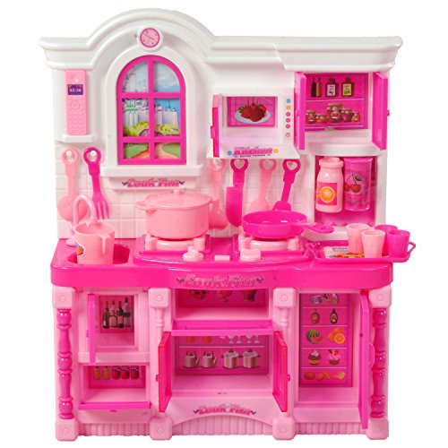 Kitchen Play Set With Light Music Price Pricejano