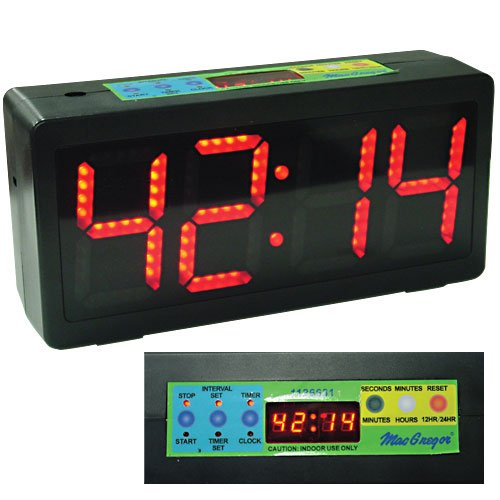 MacGregor Count Up/Down Clock MacGregor Scoreboards & Timers autotags B000BPM4US