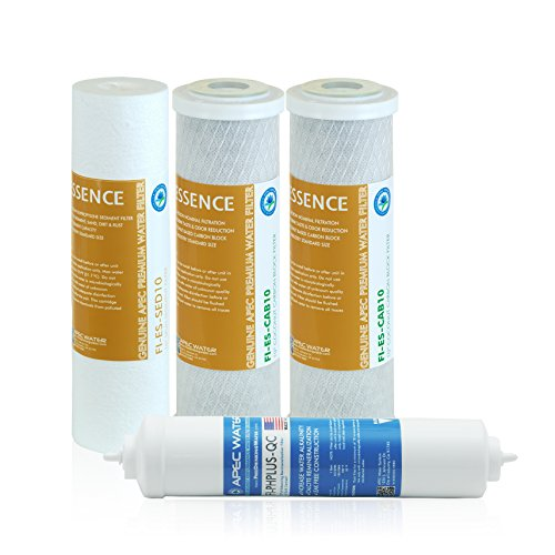 APEC Water Systems FILTER-SET-ESPH Stage 1, 2, 3 and 6 Replacement Filter for Under sink Alkaline System (Ro Do Filter System compare prices)