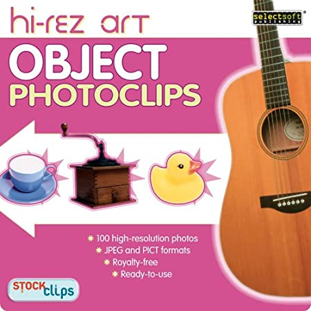 High-Rez Art: Object PhotoClips [Download]