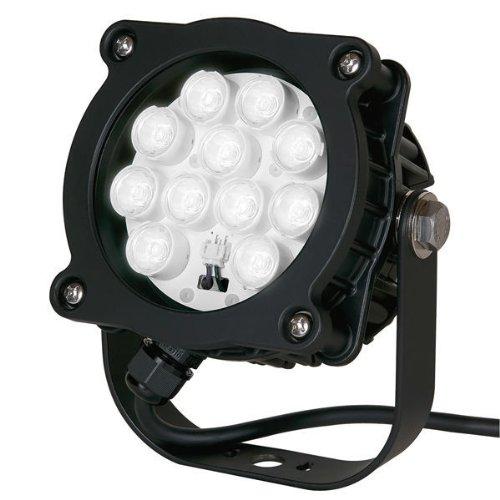 Tcp Ledsl16K50Bl01 Black 16-Watt Spotlight Light With Bracket And 6-Feet Cord And Nema 5-15 Male Plug, 2700-Kelvin