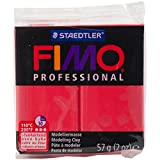 Staedtler Fimo Professional Soft Polymer Clay, 2 oz, Red