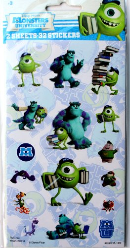 Monsters University Stickers