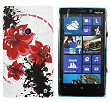 buy Kit Me Out Us Tpu Gel Case For Nokia Lumia 920 - Multicoloured Oriental Flowers