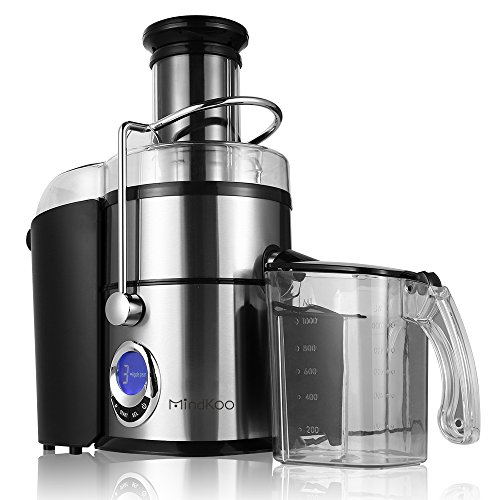 Mindkoo Juicer 800-Watt Dual Speed Fruit and Vegetable Juice Extractor (Juice Jug With Froth Separator compare prices)