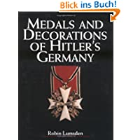 Medals and Decorations of Hitler's Germany
