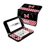 Minnie Bow Design Protective Decal Skin Sticker for Nintendo 3DS XL (2014)(High Gloss)