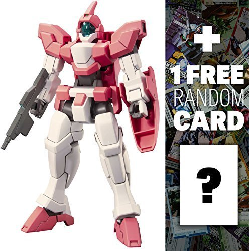 RGE-B890 Genoace II: Gundam AGE Advanced Grade 1/144 Model Kit + 1 FREE Official Gundam Japanese Trading Card Bundle [AG # 011] [parallel import goods] (Gundam Advanced Grade Age 2 compare prices)