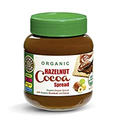Natural Nectar Organic Hazelnut Cocoa Spread, 13 Ounce (Pack of 12)