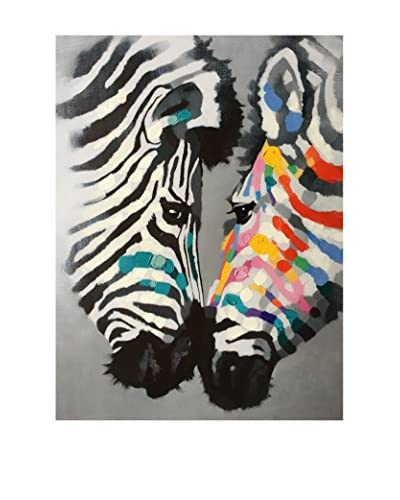 Legend Arte canvas foto Zebra