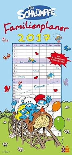 die-schlumpfe-familienplaner-2017-familienkalender-6-spalten
