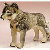 ケーセン社 ウルフ(狼) 19cm KOSEN(ケーセン社) イヌ・犬・いぬのぬいぐるみ 在庫