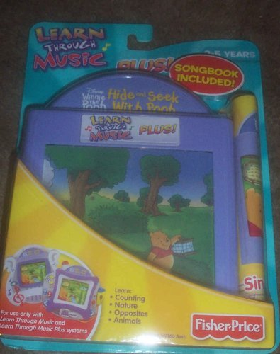 Learn Through Music Plus Hide and Seek with Pooh Cartridge - Buy Learn Through Music Plus Hide and Seek with Pooh Cartridge - Purchase Learn Through Music Plus Hide and Seek with Pooh Cartridge (Fisher Price, Toys & Games,Categories,Electronics for Kids,Learning & Education,Toys)