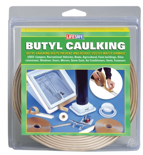 Incom RE20758 .75-Inch by 20-Foot Butyl Caulking Tape, Gray
