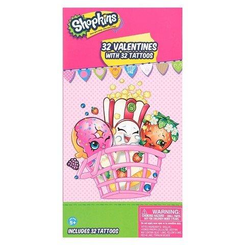 shopkins valentine's day cards