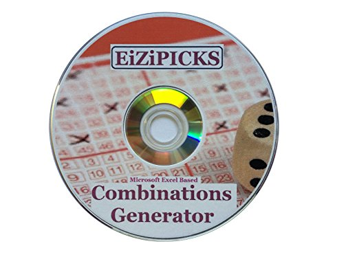 Lottery Lotto Numbers Pick 4 Combinations Generator Excel Based