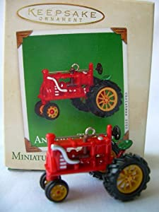2002 Hallmark Ornament Miniature Antique Tractors # 6 Series