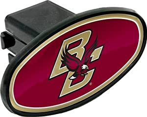 Buy Boston College Eagles Domed BC Emblem Plastic Trailer Hitch Cover Fits 2 Inch Auto Car Truck Receiver with NCAA College... by MVP Accessories
