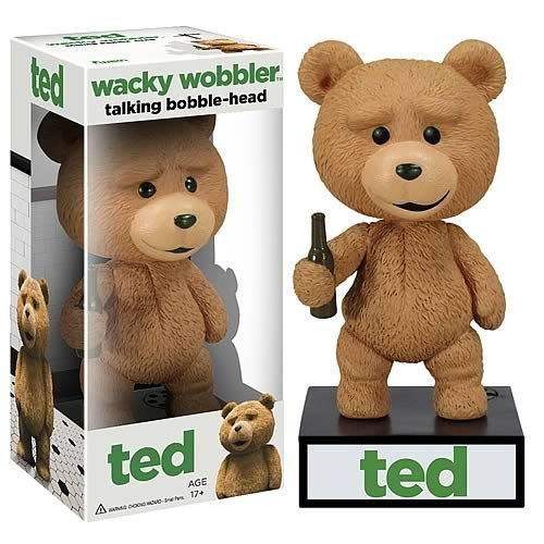 Funko Talking Ted Wacky Wobbler Bobble Head - 1