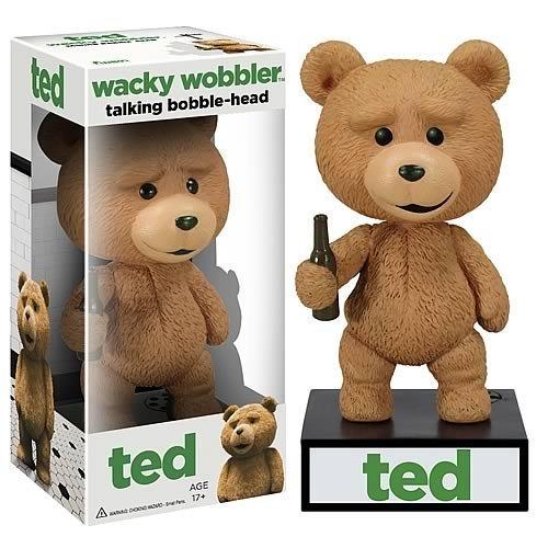 Funko Talking Ted Wacky Wobbler Bobble Head - 1