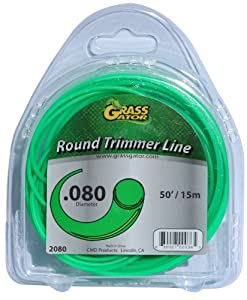 Grass+Gator Grass Gator 2080 50-Foot-by-.08-Inch Round Trimmer Line