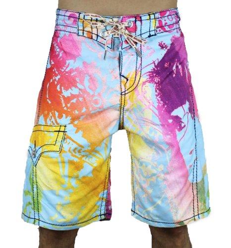 2cd9f52f03 TRUE RELIGION Fillmore Boardshorts Mens Swimwear Shorts Blue Size 32:  mkwheel261 ?