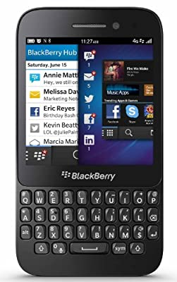 BlackBerry Q5 (Black, 8 GB)