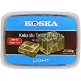 Koska Halva Sugar Free Cacao 350 g (Pack of 3)