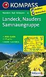 Landeck - Nauders - Samnaungruppe: Wanderkarte mit Aktiv Guide, alpinen Skirouten und Radrouten. GPS-genau. 1:50000 (KOMPASS-Wanderkarten)