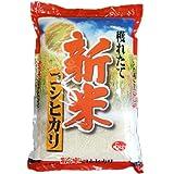 平成28年 新米 宮崎産 コシヒカリ 5kg (白米精米 約4.5kgでお届け)