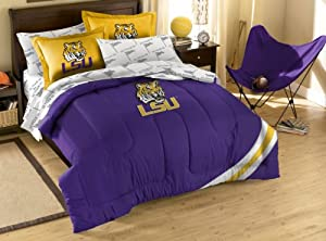 Buy NCAA LSU Tigers Full Bed in a Bag with Applique Comforter by Northwest