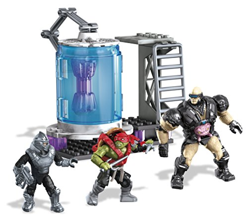 Mega Bloks Teenage Mutant Ninja Turtles Kraang Cryo Chamber Set (Robotic Mech Suit compare prices)