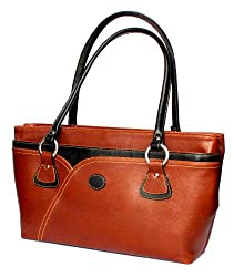 Stonkraft Womens Shoulder Bag (Brown) (FxLthrBrwnBag78)