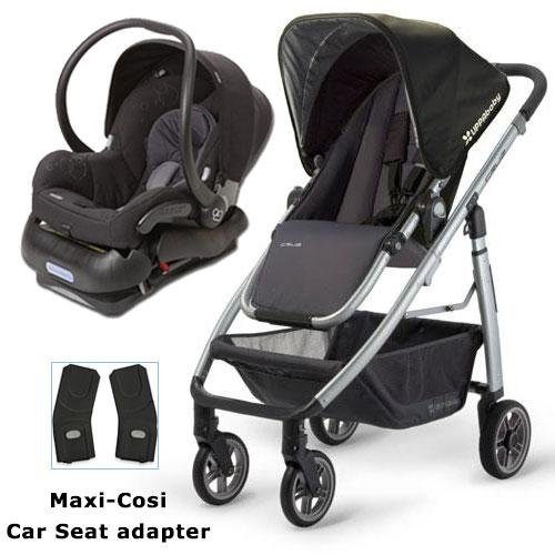 UPPAbaby 0071JKE Cruz Stroller With Matching Maxi Cosi Car Seat And Adapter