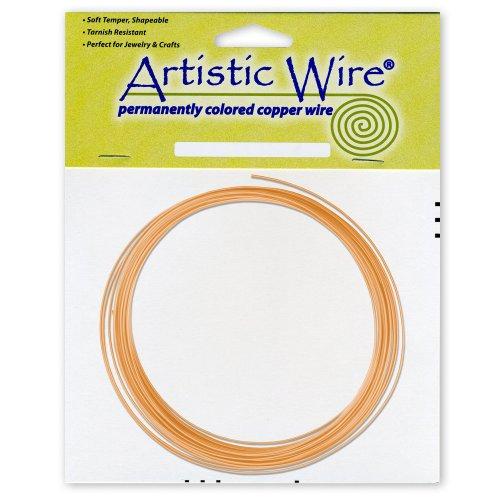 Artistic Wire 14-Gauge Bare Copper Coil Wire, 10-Feet (11 Gauge Wire compare prices)