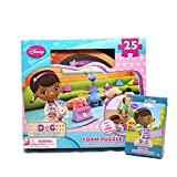 Doc McStuffins Foam Puzzle and Jumbo Playing Cards Set