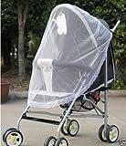 yalulu 2unidades Baby Stroller/para cochecito de bebé Net/malla Mosquito Insectos Fly Bug Cortar en malla transpirable Proteger neta