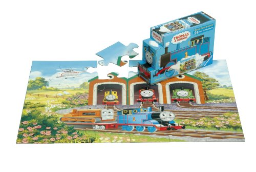 Best Buy On Thomas Amp Friends Off To Work 24 Piece Floor