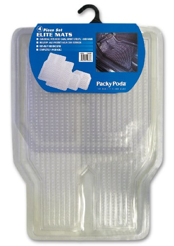 Elite 4 Piece Vinyl Floor Mats - CLEAR