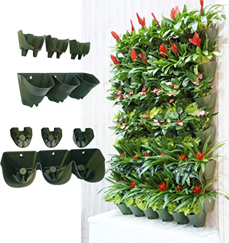 worth-self-watering-vertical-wall-planter-flowerpothanging-plant-pots-w-3-pockets-and-3pc-filter-lay