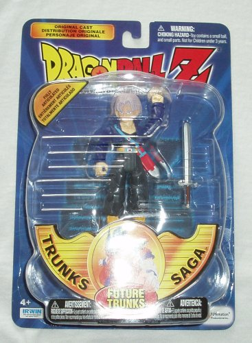 Dragon Ball Z DBZ Future Trunks Saga Action Figure