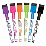 Marcador de borrado en seco SRX Magnetic paquete 6 unidades colores surtidos