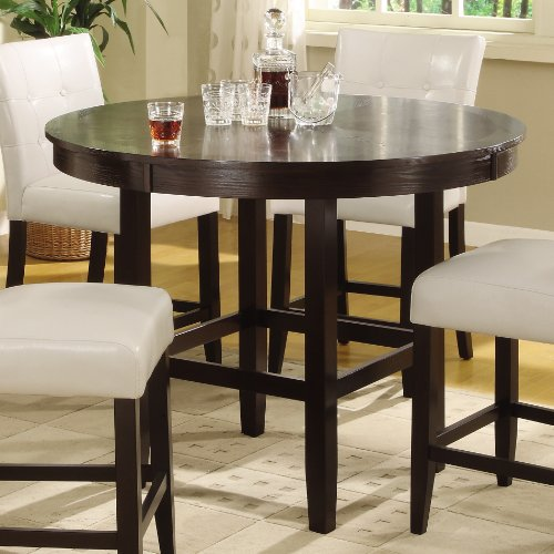 Modus Furniture 2Y2162R48 Bossa 48 Inch Round Counter Height Dining Table Da