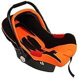 Car Seat Cum Carry Cot - Orange