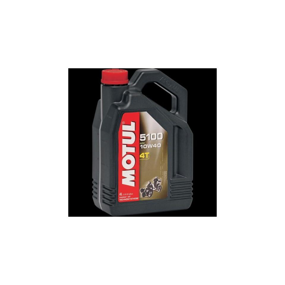Motul 5100 Synthetic Blend Motor Oil 10W50 1 Liter 836815 on PopScreen