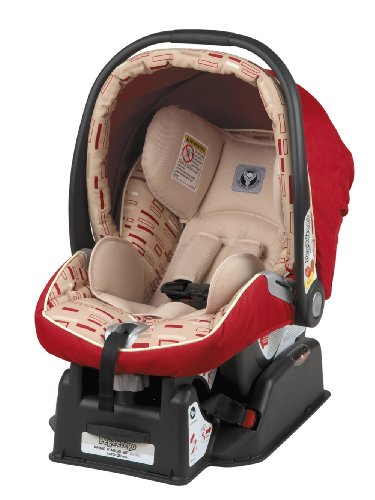 Peg-Perego 2010 Primo Viaggio Infant Car Seat, Red Step