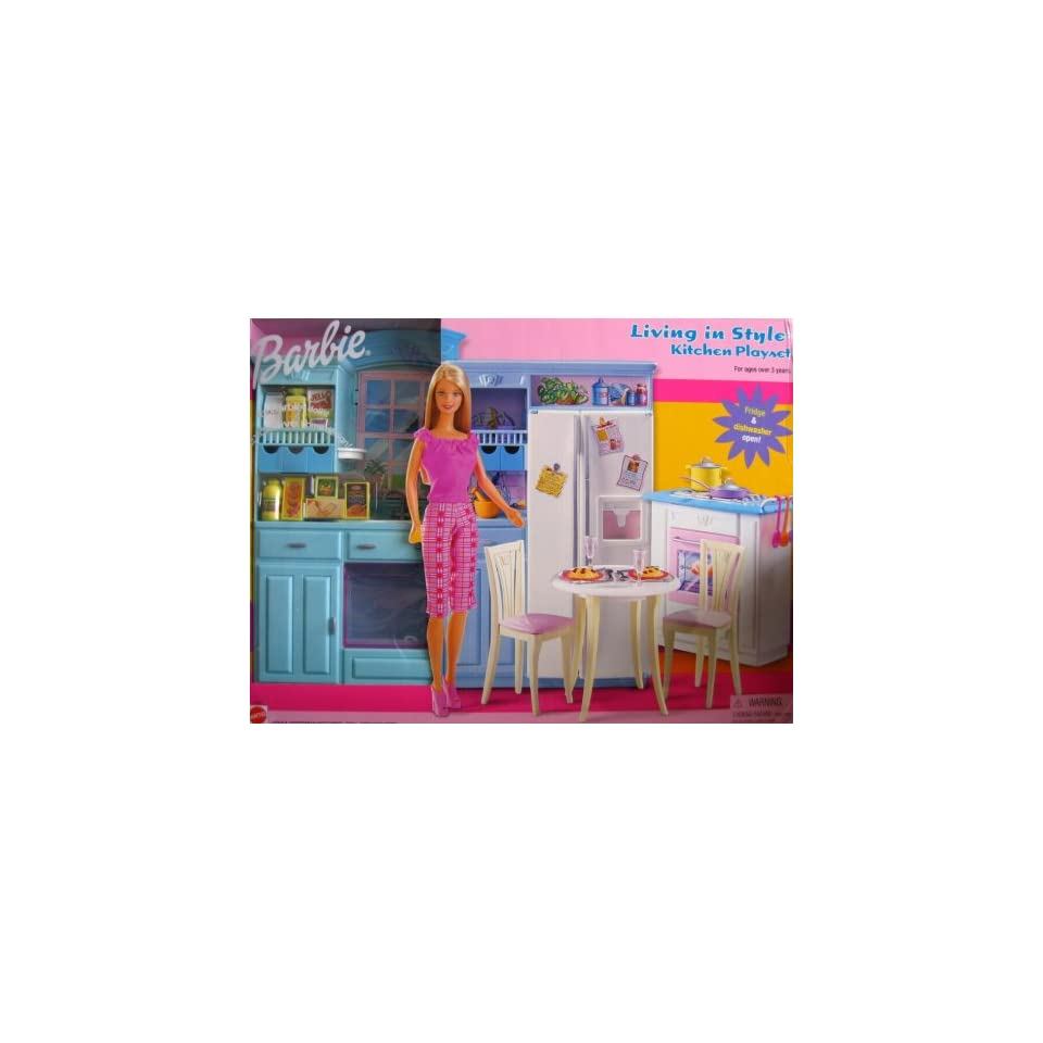 Barbie Living In Style Kitchen Playset On Popscreen